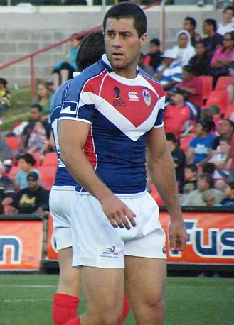 Jared Taylor (rugby league) - Image: Jared Taylor 2008