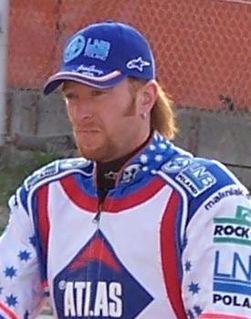 Jason Crump Australian speedway rider