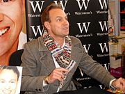 Jason Donovan at a 2007 book signing in Waterstones Bournemouth.