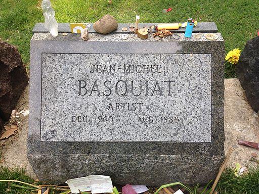 Jean-Michel Basquiat - grave