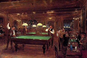 Image result for pool table settings shakespeare othello