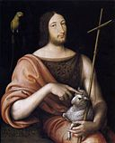 Jean Clouet - Portrait of François I as St John the Baptist - WGA05080.jpg