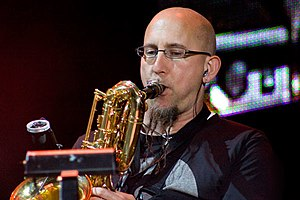 Jeff Coffin - Coffin performing in 2008