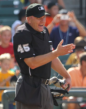 Jeff Nelson (umpire) - Nelson in 2011.