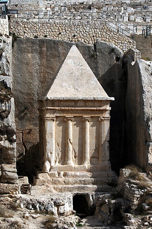 Tomb of Zechariah - Tomb of Zechariah