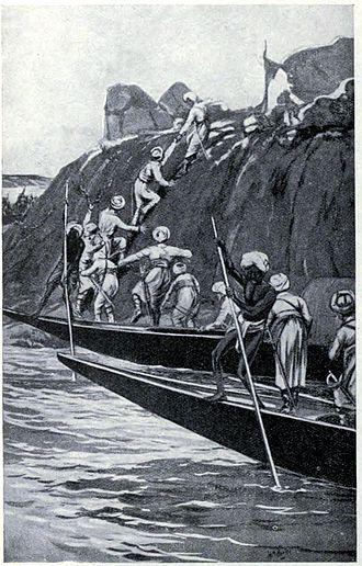 Job Charnock - Job Charnock founding Calcutta, 1690