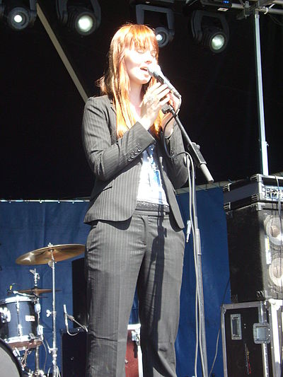 Picture of a band or musician: Johanna Kurkela