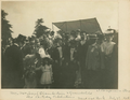 John Benjamin Stone, Joseph Chamberlain and grandchild, his birthday celebrations, Ward End Park July 7th 1896.png