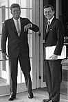 John F. Kennedy and Stephen E. Smith KN-29561.jpg