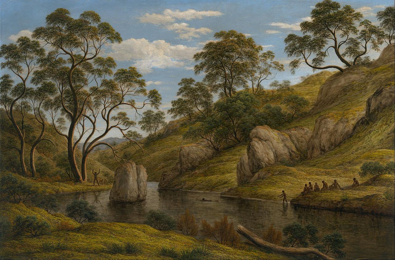 File john glover the bath of diana van diemen 39 s land for John s painting