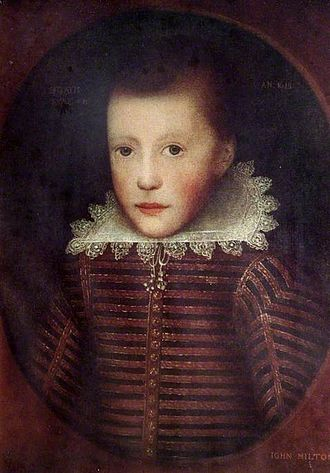 John Milton - John Milton at age 10 by Cornelis Janssens van Ceulen