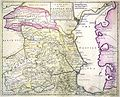 John Senex. Kaspiska havet. 1742.jpg