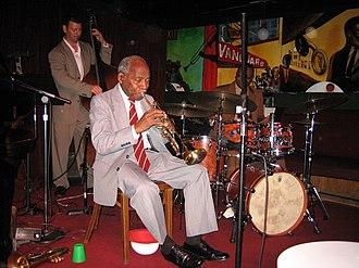 Joe Wilder - Left to right: John Webber, Joe Wilder and Lewis Nash