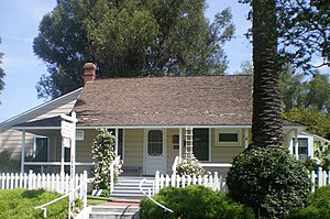Jonathan Bailey House (Whittier, California) - Bailey House, 2008