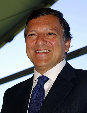José Manuel Barroso, president of the European Commission and Eurocrat fumble-mouth in chief