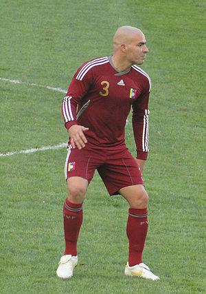 José Manuel Rey - Rey with Venezuela at the 2011 Copa América.