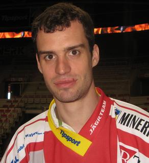 Josef Hrabal Czech ice hockey player