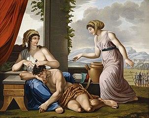 Josef Worliceks Samson And Delilah 1844