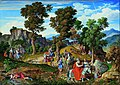 Joseph Anton Koch - Serpentara Landscape with the Procession of the Magi - Google Art Project.jpg