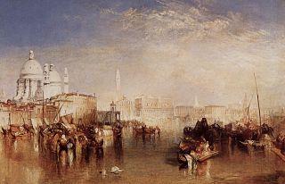 Venise, vue du canal de la Giudecca