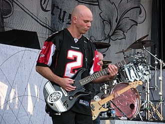 Stone Sour - Josh Rand joined the band in 2001.