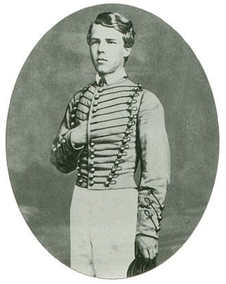 John Rodgers Meigs - Portrait of John Rodgers Meigs while he was a cadet at West Point.