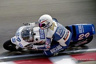 Juan Borja (motorcyclist) - Juan Borja at the 1994 U.S. Grand Prix