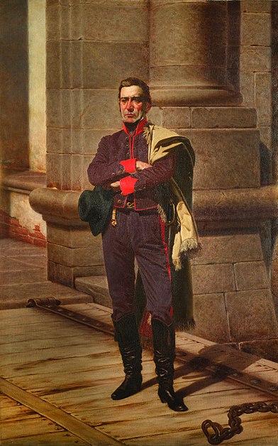 Archivo:Juan Manuel Blanes - Artigas en la Ciudadela.jpg
