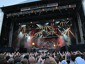 Sauna Open Air Metal Festival - Judas Priest on stage in 2011