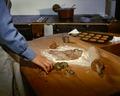 Jul i palatset. Julbak på Hallwyl. Pepparkakor, kavel, form - Hallwylska museet - 82266.tif