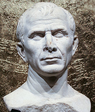 Fascism and ideology - Bust of Julius Caesar, Dictator of the Roman Republic (49 BC–44 BC)