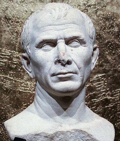 Найденный на дне Роны бюст, отождествляемый с Цезарем