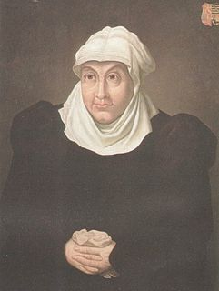 Juliana of Stolberg German countess