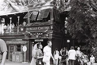 Adventureland (Disney) - Jungle Cruise at Disneyland  Kodak Tri-X 400 film