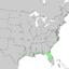 Juniperus virginiana var silicicola range map 2.png