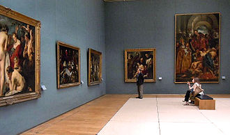 Royal Museums of Fine Arts of Belgium - The Jacob Jordaens room
