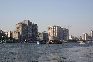 Der Nil in Kairo