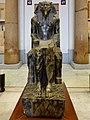 Kairo Museum Sitzstatue Chephren 01.jpg