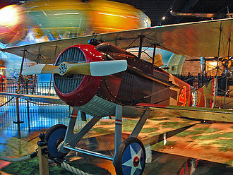 Air Zoo - S.P.A.D. WWI Fighter at the Kalamazoo Air Zoo