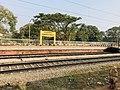 Kaluparaghat railway station name board 2.jpg