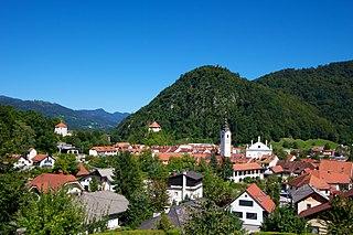 Kamnik Town in Upper Carniola, Slovenia