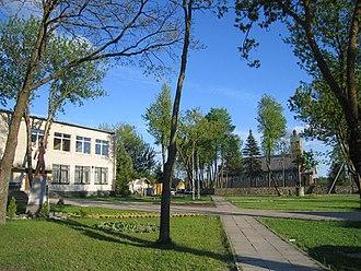 Kapčiamiestis - Central square
