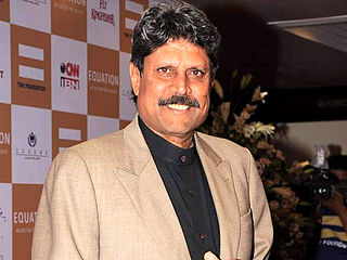 Kapil Dev Indian cricketer