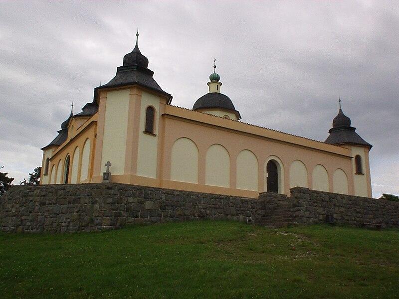 kostel Andělů strážných v Sušici
