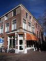 Kapsalon Eric, Langebrug hoek Ketelboetersteeg 29, Leiden.JPG