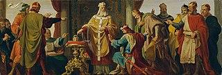 Leopold der Heilige weist die Kaiserkrone zurück