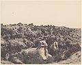 Karnak (Thèbes), Sphinx a Tête Humaine et a Tête de Bélier, en Y MET DP71386.jpg