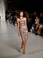 Katarina Ivanovska, New York Fashion Week 2006