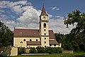 Kath. Pfarrkirche hl. Michael in Röhrenbach - Südansicht.jpg