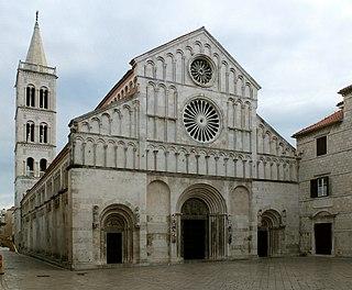 Zadar Cathedral Church in Zadar, Croatia